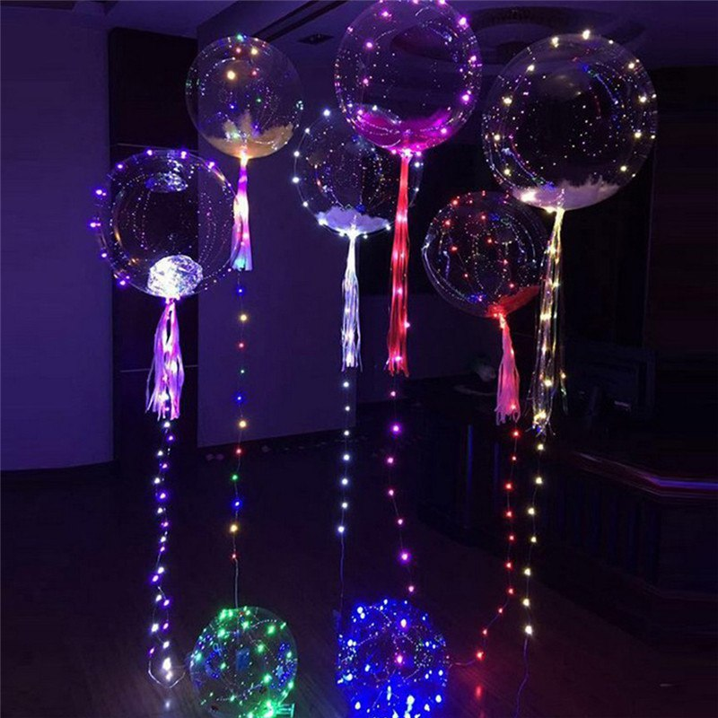Шары со светящейся гирляндой Deco bubbles